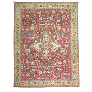 Antique Persian Sultanabad Mahal Rug - 10'11'' x 17'2''