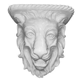Porcelain Lion Motif Corbel