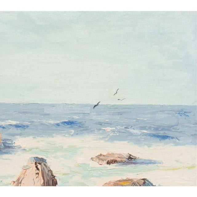 California Seascape by Evelyn Meck, 1975 - Image 3 of 6