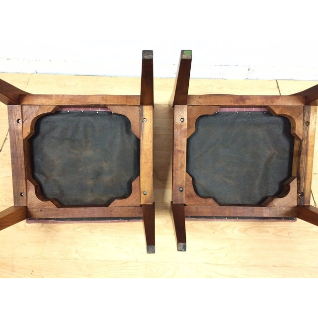 Edward Wormley Cane Back Chairs - A Pair - Image 9 of 11
