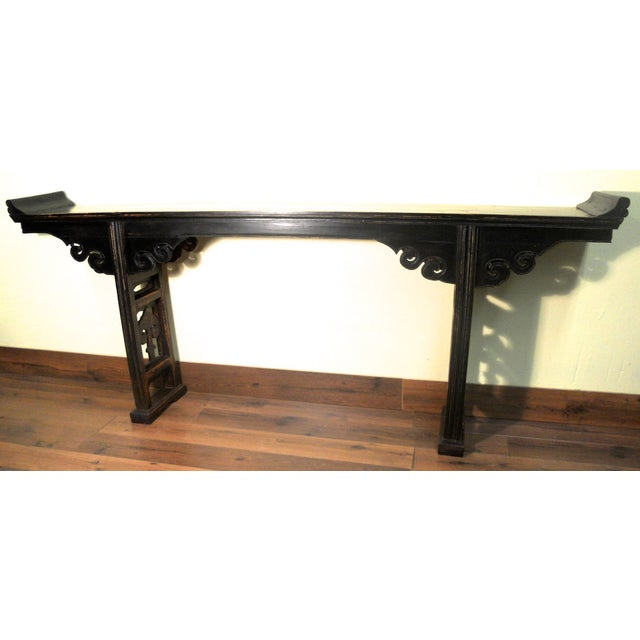 19th-Century Chinese Altar Table - Image 2 of 10