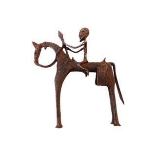 African Dogon Horseman Sculpture