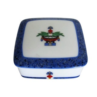 Cartier Porcelain Box, Made in France