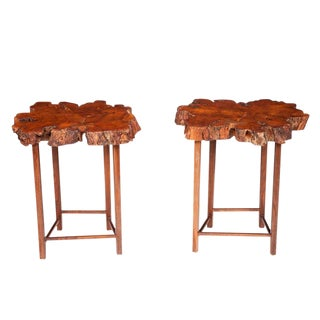 Burl Cherrybomb Tables by Don Howell, circa 2010