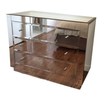 Worlds Away Mirrored Dresser
