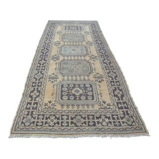 Anatolian Oushak Carpet - 4′9″ × 11′3″
