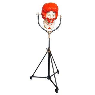 Repurposed Ronald McDonald Lamp