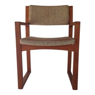 Mid-Century Modern Wooden Desk Chair