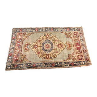 "Bellwether Rugs Vintage Distressed Turkish Oushak Rug - 2'11"" X 5'11"""
