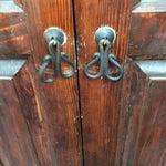 Image of Mahogany Solid Wood 4 Door Armoire