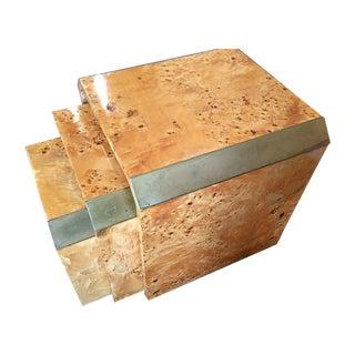 Burlwood Midcentury Modern Nesting Tables - 3
