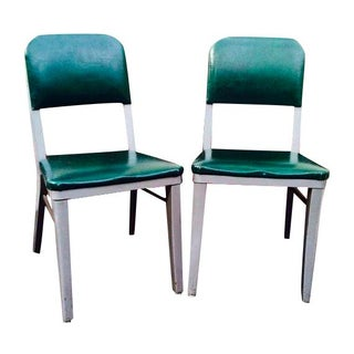 Steelcase Green Office Chairs - Set of 2