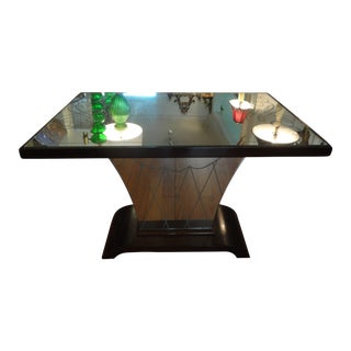 French Art Deco Geometric Cocktail Table