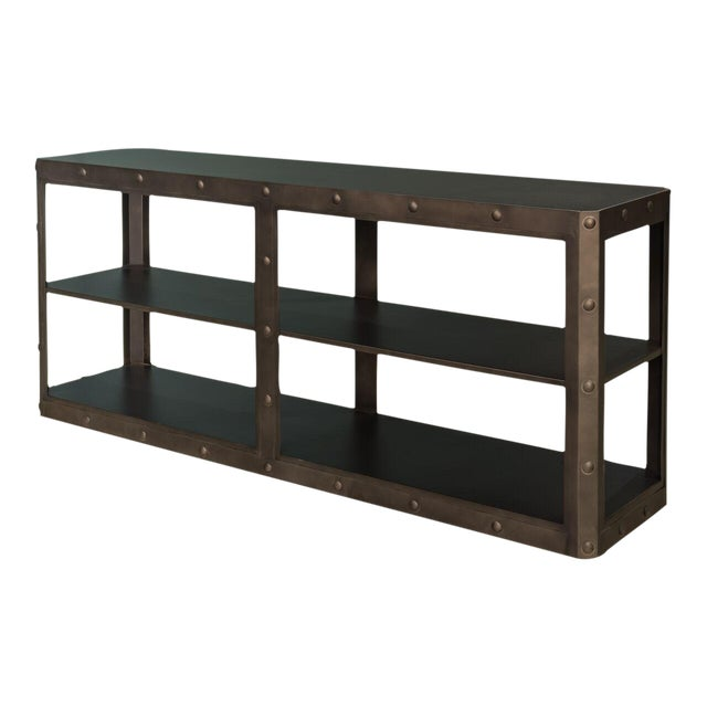 Sarreid LTD Elaine Metal Shelf - Image 1 of 6