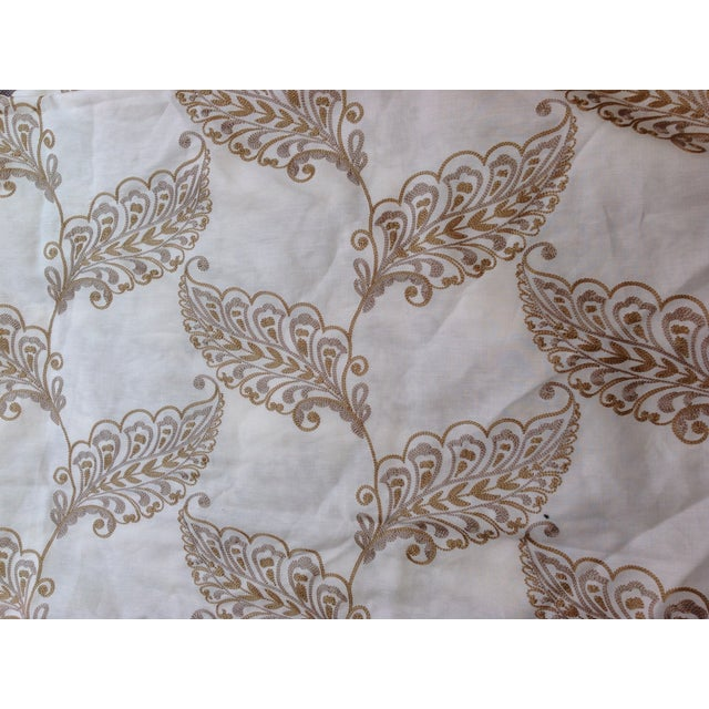 Leaf Embroidery Fabric by Highland Court - 2 Yards - Image 1 of 4