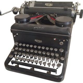 Royal American Typewriter 1930s