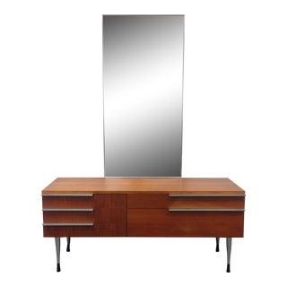 Belgian Mid-Century Vanity With Mirror