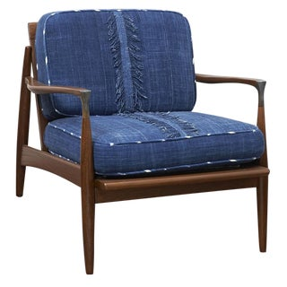 Indigo Mid Century Lounge Chair