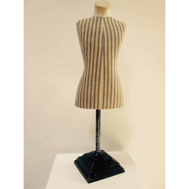 Image of Antique French Miniature Dress Form Mannequin