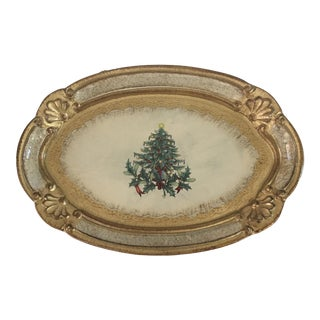 Florentine Christmas Tray
