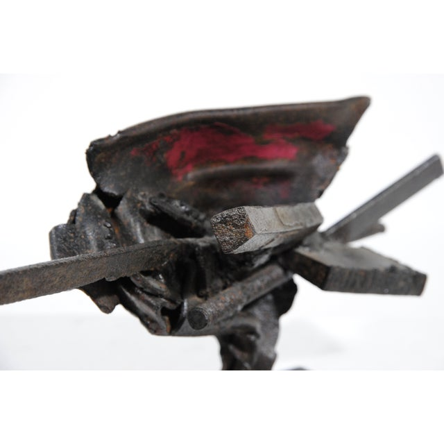 Image of French Metal Sculpture by Jean-Pierre Rives