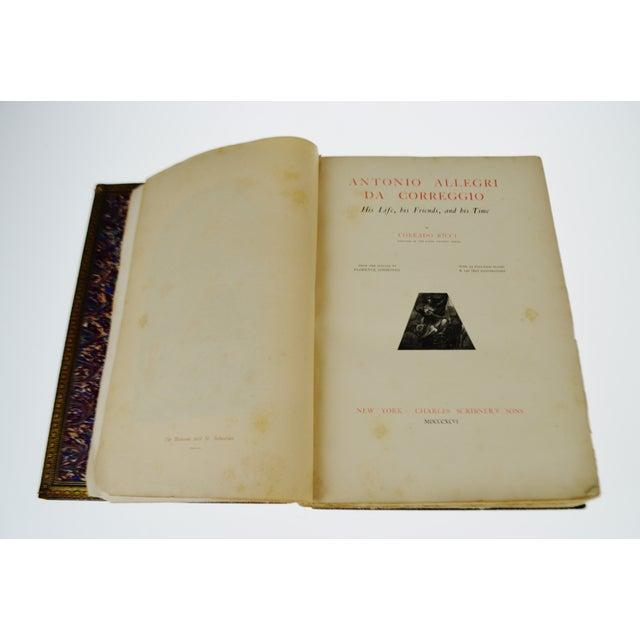 """1896 Antique """"Da Correggio Antonio Allegri Da Correggio His Life, His Friends, And His Time"""" Book - Image 6 of 10"""