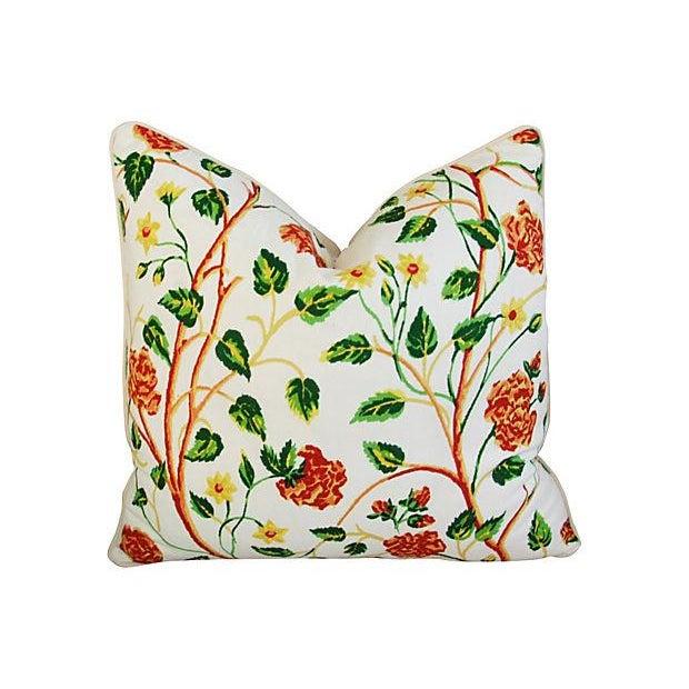 Custom Scalamandre William & Mary Pillows - Pair - Image 5 of 8