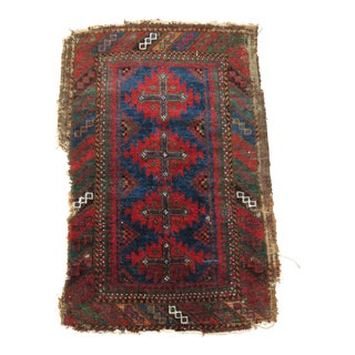 19th Century Antique Balouch Rug - 1'6'' x 2'2''