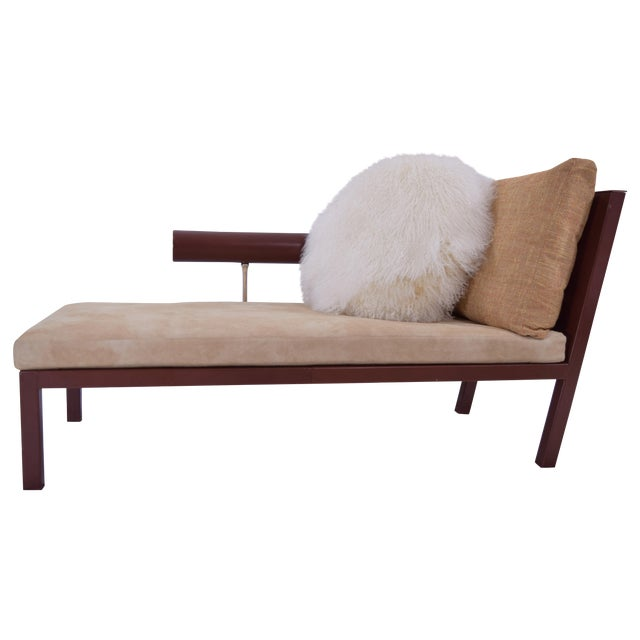 Modern chaise lounge by b b italia chairish for Chaise lounge construction