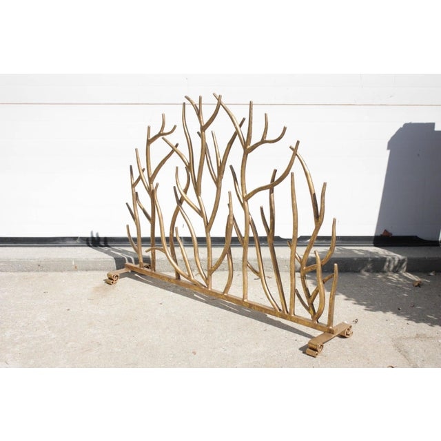 Twig Gilt Painted Fire Screen - Image 4 of 6