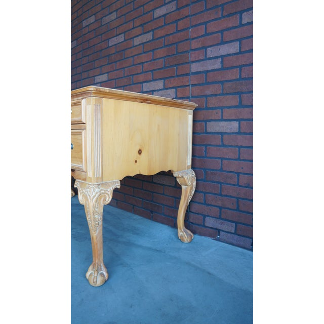 Vintage Pine Writing Desk - Image 7 of 9