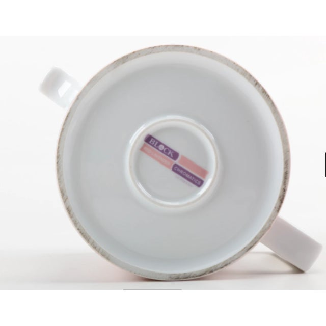 Vintage Block Chromatics Tea Set - Set of 12 - Image 9 of 10