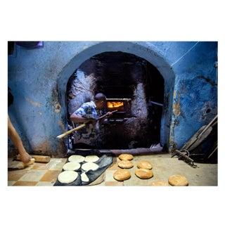 """Adnaan Zaffer """"Moroccan Baker"""" Original Framed Photograph"""