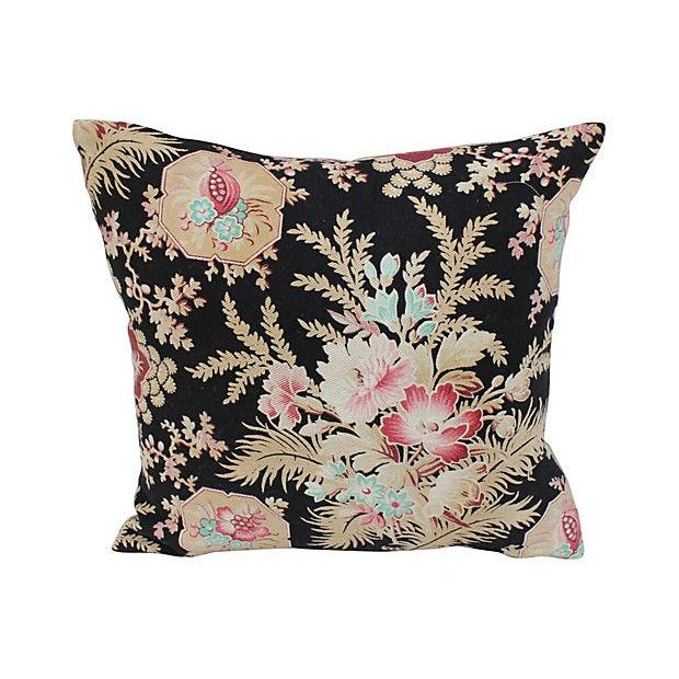 Victorian Era Floral Pillows - Pair Chairish