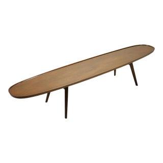 Edward Wormley Surfboard Coffee Table by Dunbar