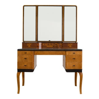 "Carl Malmsten ""Haga"" Vanity-Makeup Table for NK, Stockholm 1935"