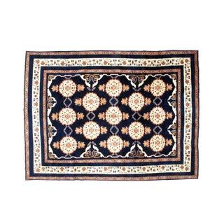 """Leon Banilivi Persian Kashkuli Navy Carpet - 8'1"""" X 11'"""