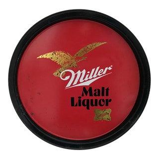 Vintage Miller Malt Liquor Tray