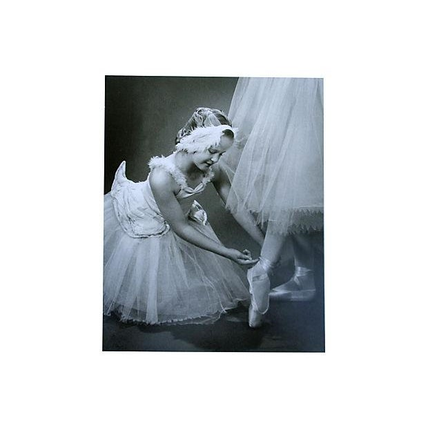 Image of Photograph of a Young Ballerina 1959 Exhibited