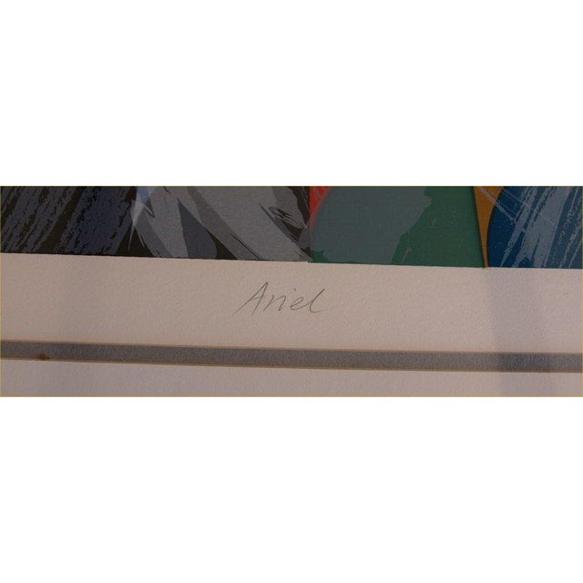 """Ann Thornycroft Abstract Lithograph Titled """"Anel"""" - Image 5 of 6"""