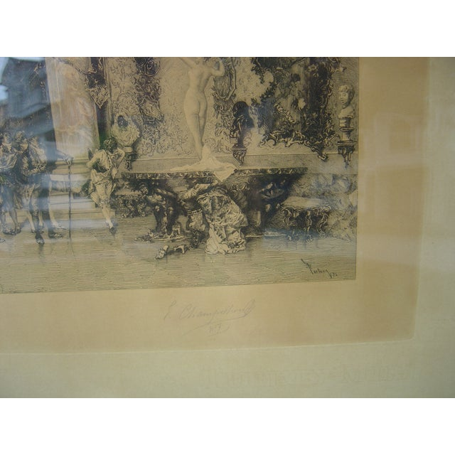 19th C Engraving - Signed/Numbered - Image 3 of 4
