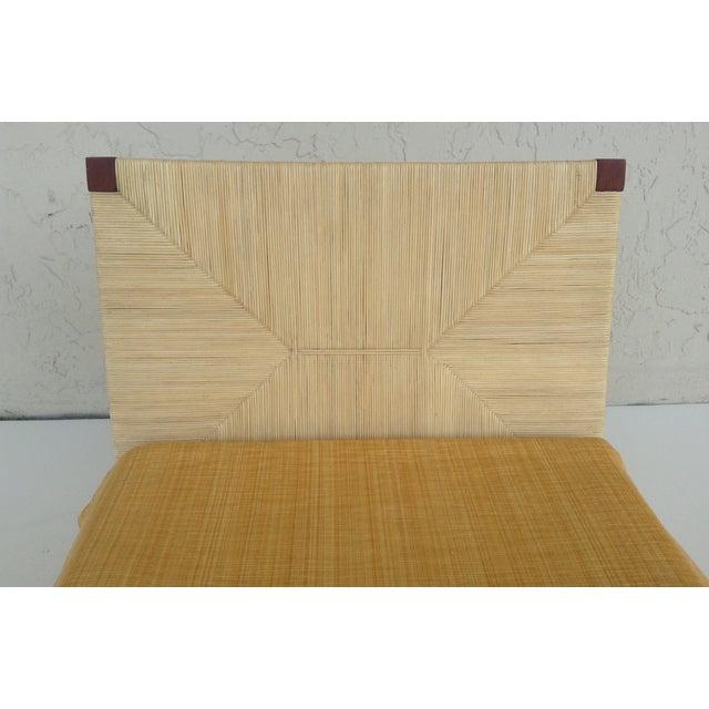 Donghia Merbau Bed Salesman Model/Sample - Image 7 of 8
