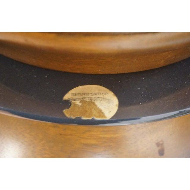 Mid-Century Modeline Walnut Tall Floor Lamps - Image 7 of 7