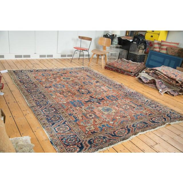 Vintage Heriz Carpet- 7′4″ × 10′1″ - Image 2 of 10