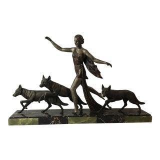 Amelia Cate De LaTour French Art Deco Sculpture