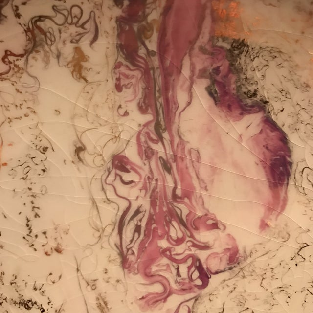 Midcentury Sasha Brastoff Ceramic Plate - Image 7 of 7