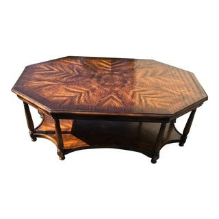 Baker Octagonal Coffee Table