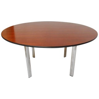 Joe d'Urso for Knoll Round Cherry Dining Table