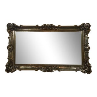 Traditional Framed Wall Mirror
