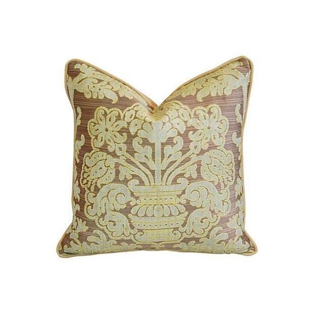 Custom French Pierre Frey Fadini Borghi Pillow - Image 1 of 5